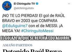 Enlace a ¡Menudo golazo de Raúl Bravo!