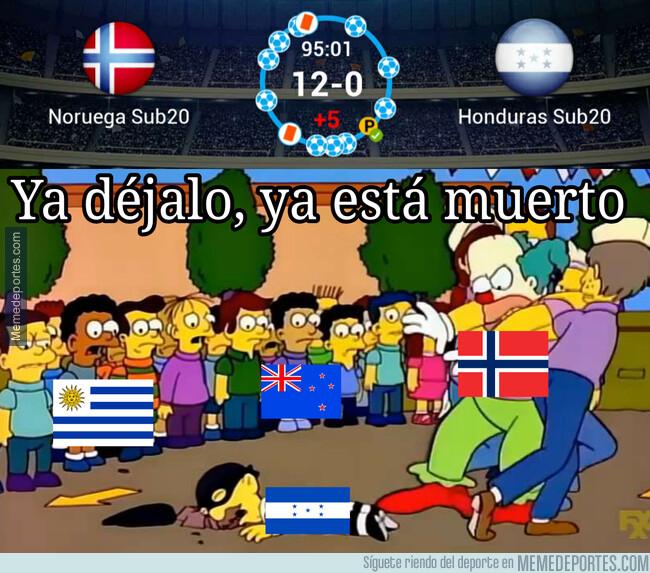 1076584 - Lamentable resultado para los jóvenes Hondureños