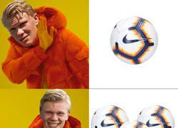 Enlace a Erling Braut Håland de Noruega anota 9 frente a Honduras y hace un hat-trick de hat-tricks