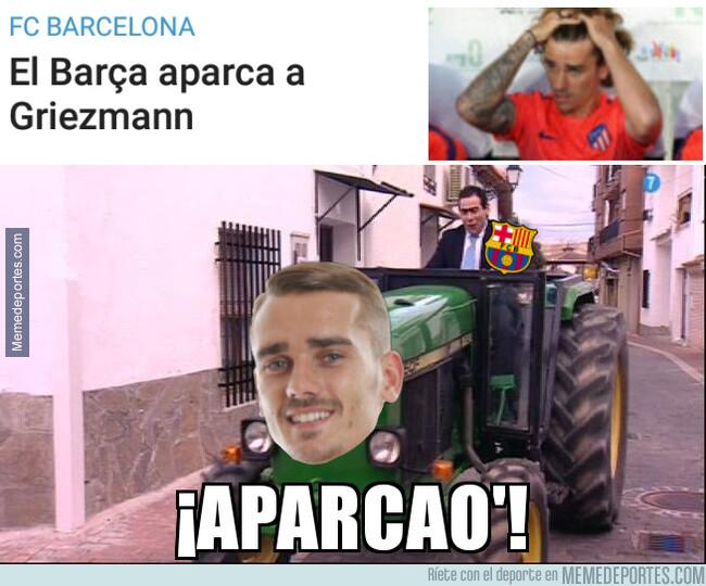 1076602 - El Barça aparca a Griezmann como Amador a su tractor