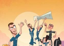 Enlace a Hazard dejó un título europeo antes de irse, por @goalglobal