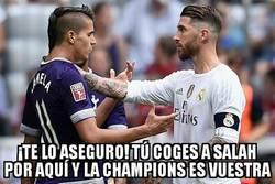 Enlace a Ramos da un último consejo a los Spurs antes de la gran final