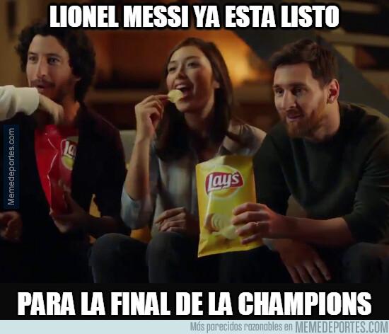 1076731 - Messi a punto de disfrutar a lo grande