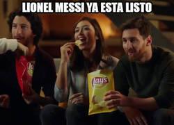 Enlace a Messi a punto de disfrutar a lo grande