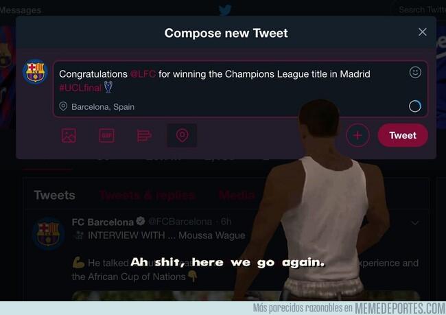 1076809 - O el Barça toma medidas o el año que viene seguirá felicitando a otros equipos (hasta puede que vuelva a ser el Madrid).