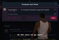 Enlace a O el Barça toma medidas o el año que viene seguirá felicitando a otros equipos (hasta puede que vuelva a ser el Madrid).