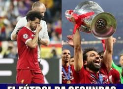 Enlace a Salah pudo quitarse esa espina