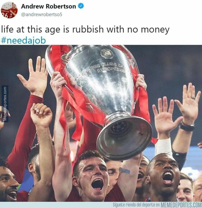 1076858 - De no tener trabajo ni dinero, a ganar la Champions