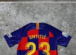 Enlace a Se actualizan los dorsales de la nueva camiseta de cuadros del Barça, por @Barzaboy
