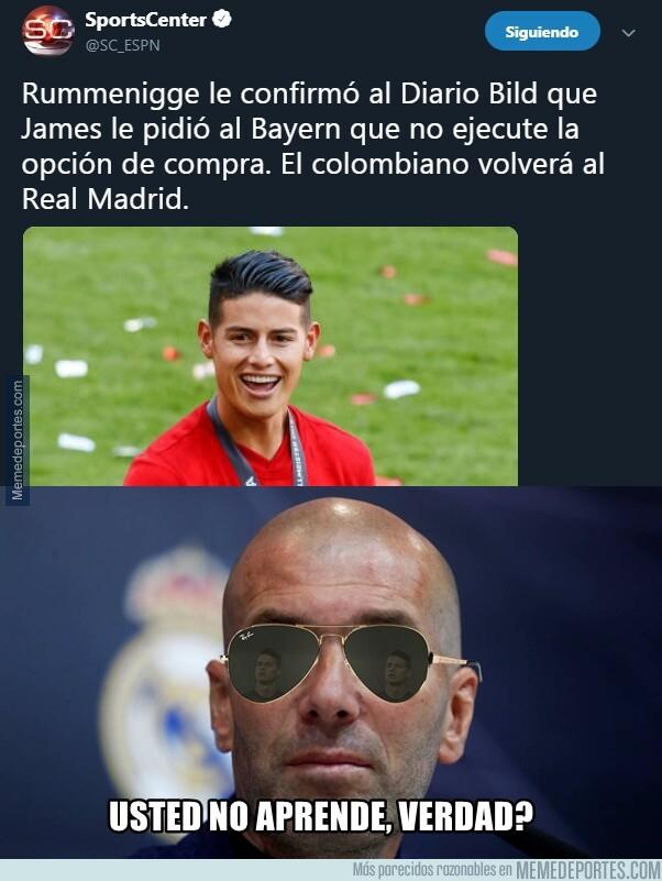 1077122 - James podría regresar al Madrid