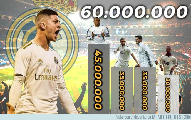 1077135 - Jovic, el delantero centro más caro de la historia del Madrid