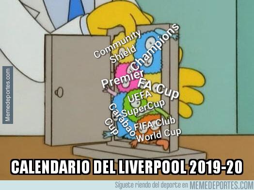 1077153 - ¡El Liverpool jugará 7 competiciones el próximo año!