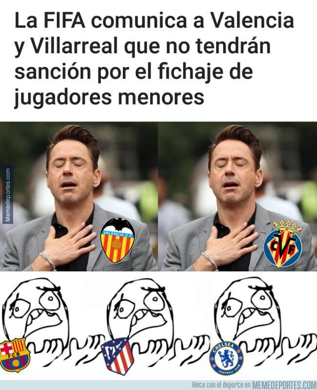 1077157 - Valencia y Villarreal se salvan de lo que otros no pudieron