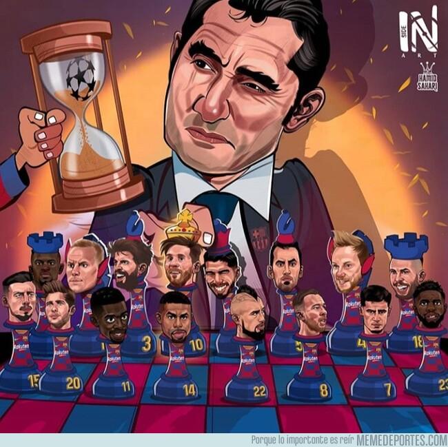 1077163 - El ajedrez de Valverde, por @hamidsaharicartooon