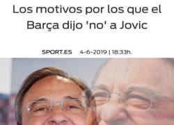 Enlace a La prensa de Barcelona dice ahora que el Barça en realidad no le quería
