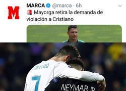 Enlace a Cristiano siempre fue un ejemplo a seguir para Neymar