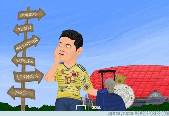 1077256 - James busca nuevo destino, por @goalenespanol