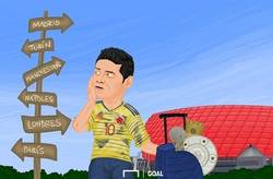 Enlace a James busca nuevo destino, por @goalenespanol