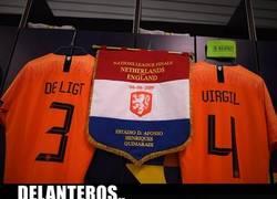 Enlace a Holanda tiene el duo central más imponente del mundo