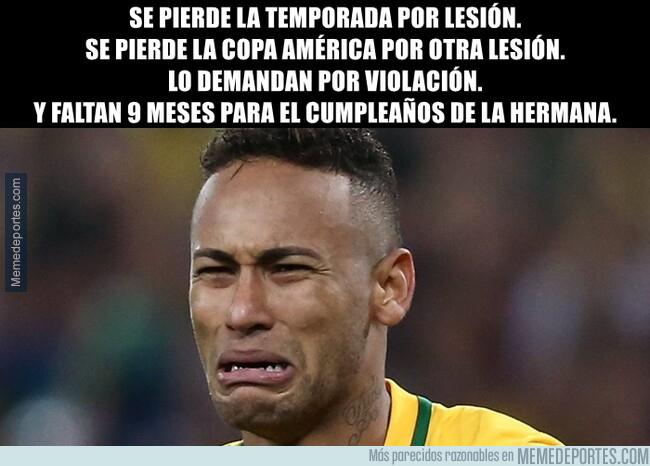 1077332 - Uno de los peores momentos en la carrera de Neymar