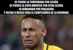 Enlace a Uno de los peores momentos en la carrera de Neymar