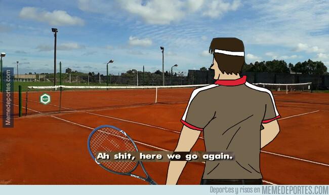 1077394 - Federer cada vez que se encuentra a Rafa en el Roland Garros. Tiene el saldo de 6-0