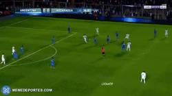 Enlace a Messi sacó a pasear a Media Nicaragua en este gol