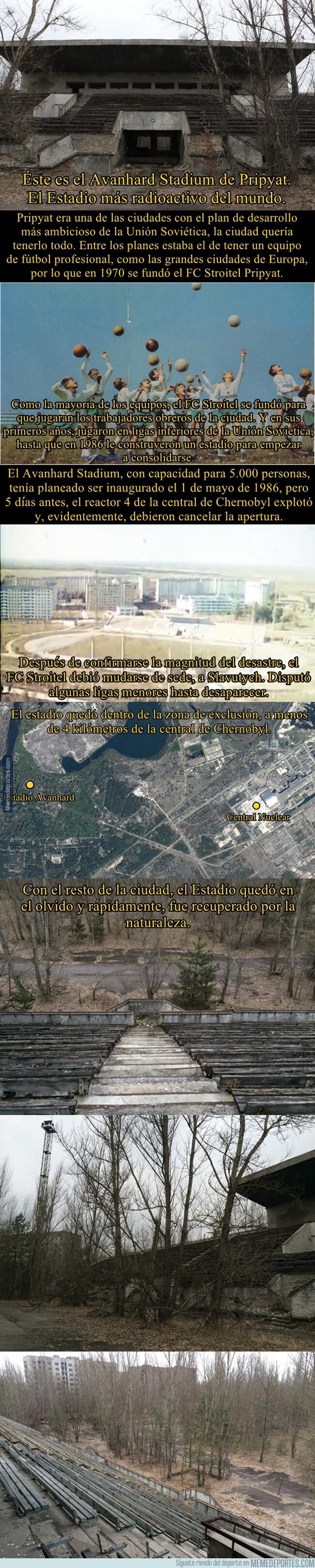 1077499 - El único estadio dentro de la zona más radioactiva del mundo