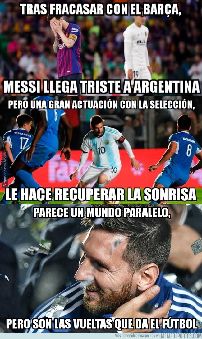 1077541 - Messi está viviendo en una realidad paralela