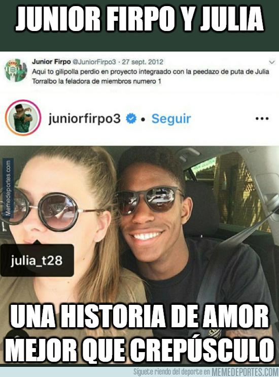 1077595 - La historia de amor de Junior Firpo y Julia