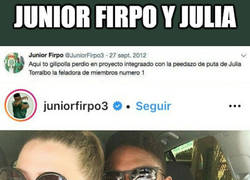 Enlace a La historia de amor de Junior Firpo y Julia