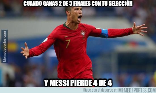 1077613 - Y con una selección mucho peor. Messi debe aprender