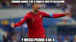 Enlace a Y con una selección mucho peor. Messi debe aprender