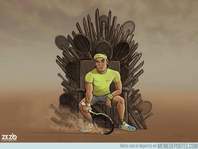 1077662 - El heredero al trono de tierra batida, por @zezocartoons