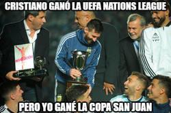 Enlace a Messi también tiene un trofeo para presumir con su selección