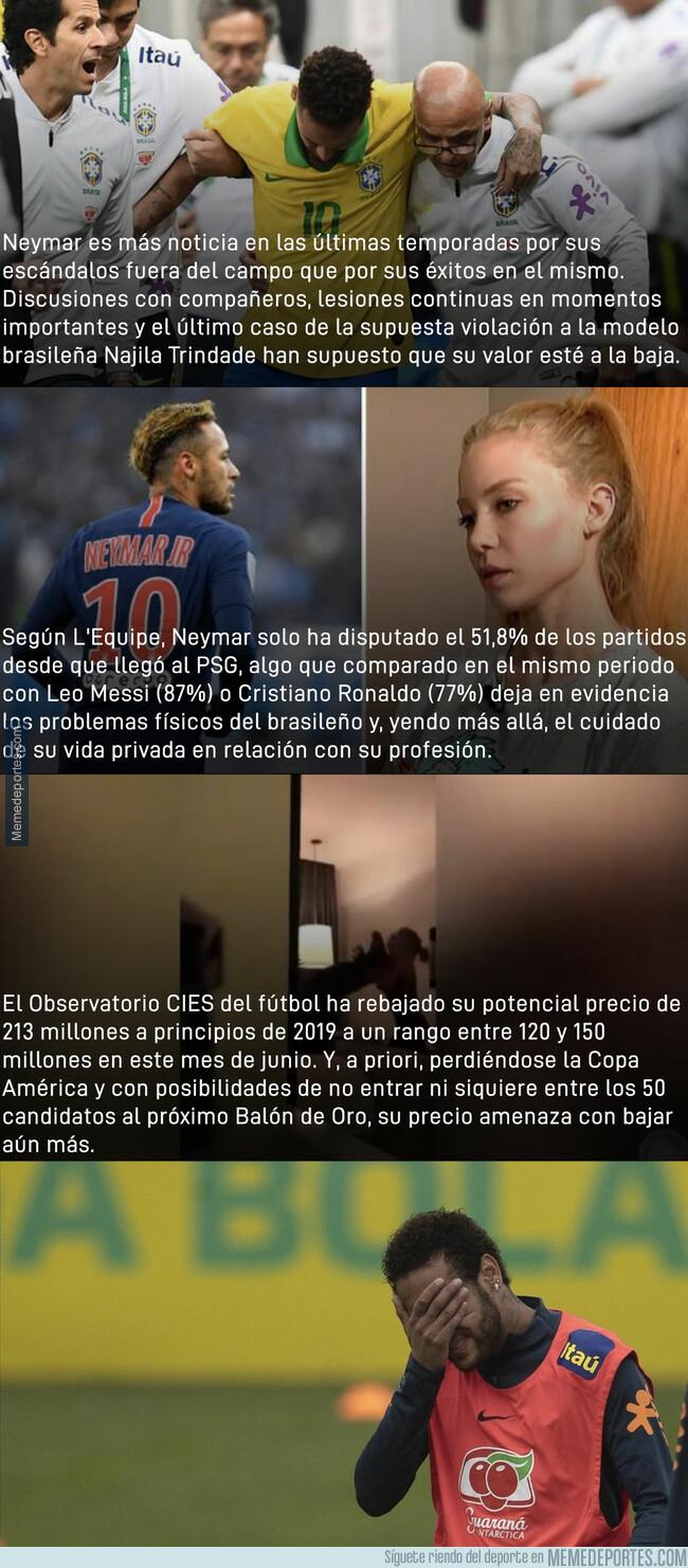 1077703 - El precio de Neymar ha bajado en picado y esto es lo que vale actualmente