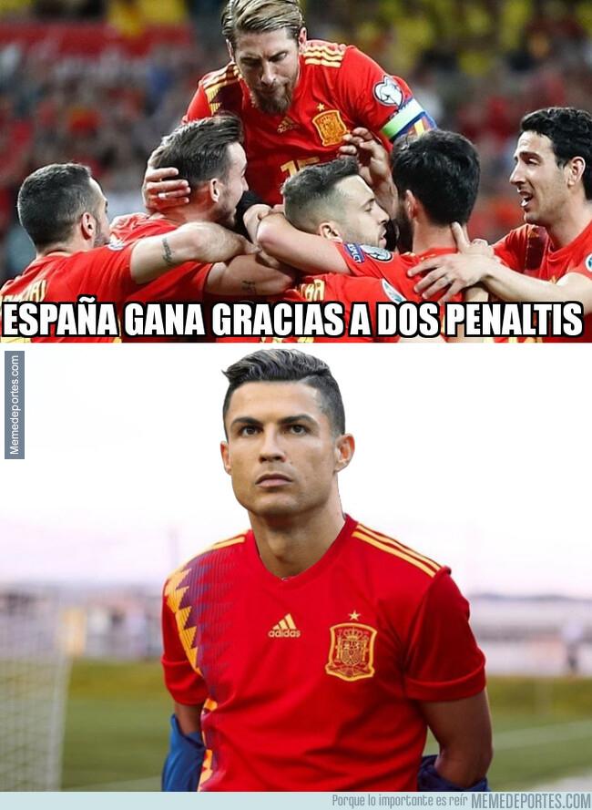 1077771 - A Cristiano le hubiese gustado jugar con España