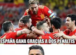 Enlace a A Cristiano le hubiese gustado jugar con España