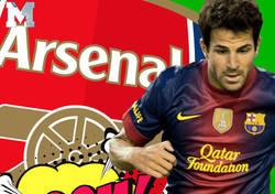 Enlace a Cesc Fábregas destroza a un periodista tras replicarle que cambió el Arsenal para estar en el banquillo del Barça