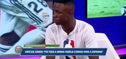 Enlace a Vinicius responde a la gran pregunta entre con quien prefiere jugar si Messi y Cristiano