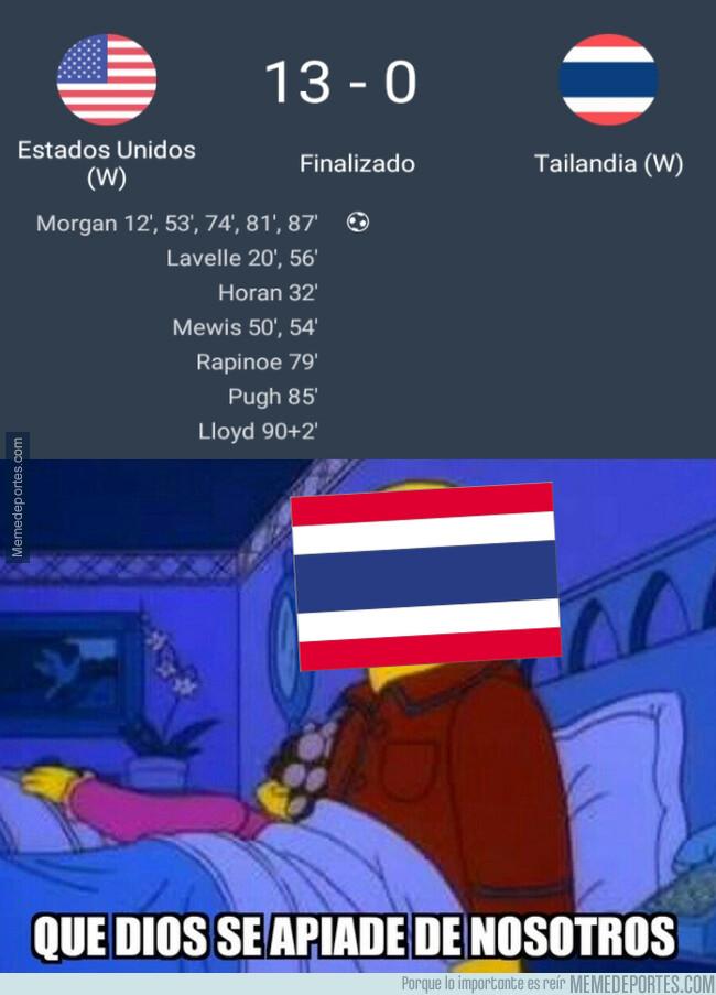 1077869 - Las estadounidenses vapulearon a Tailandia