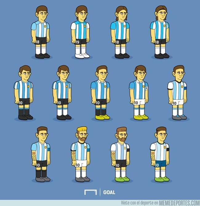 1077876 - La evolución 'Simpsonizada' de Messi en Argentina, por @goalglobal
