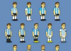 Enlace a La evolución 'Simpsonizada' de Messi en Argentina, por @goalglobal