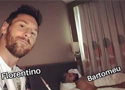 Enlace a La foto de Messi resume cómo va el mercado
