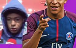 Enlace a El gran enfado de Mbappé después de que un jugador de Andorra intentase trolearle con su capucha