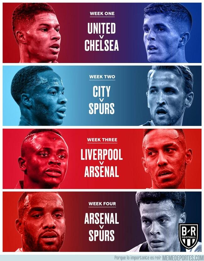 1077989 - El inicio de la Premier League es impresionante