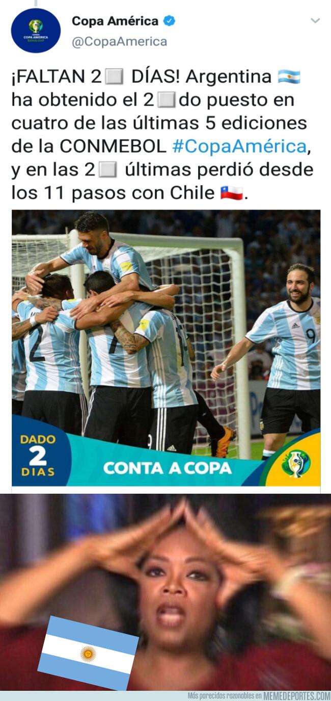 1078064 - La Copa América trollea a Argentina a 2 días de que empiece