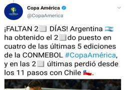Enlace a La Copa América trollea a Argentina a 2 días de que empiece
