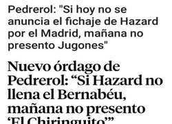 Enlace a Pedrerol saca tajada del fichaje de Hazard