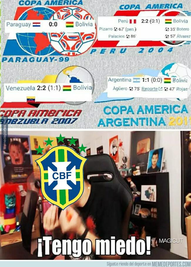 1078082 - Últimos resultados de Bolivia en partidos inaugurales contra organizadores